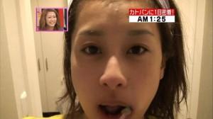 加藤綾子 すっぴん